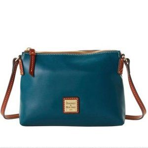 NWT Dooney & Bourke Teal Wexford Crossbody Bag